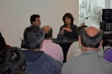 La actividad  fue presentada por la conductora Ana Castagneto.