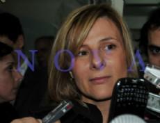 Florencia Saintout, decana de la Facultad de Periodismo y precandidata a intendenta por el FpV. (Foto archivo: NOVA)