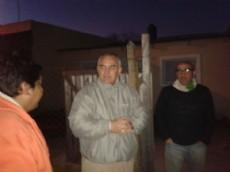 Los precandidatos del Frente Renovador prosiguen con las caminatas por los barrios.
