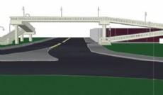La obra ser� realizada por la Direcci�n de Vialidad de la Provincia de Buenos Aires y contar� con un puente peatonal de estructura premoldeada en la avenida 122, frente al ex BIM III.