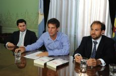 Generaci�n Democr�tica se present�, por primera vez, en sociedad este viernes en La Plata.