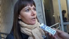 Mar�a Ugarte, delegada de ATE y trabajadora en el Organismo Provincial para el Desarrollo Sostenible. (Foto: NOVA).