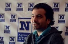 Franco Le�n Arraigada: escritor, fot�grafo y futuro arquitecto oriundo de Punta Alta, radicado en La Plata. (Foto: NOVA)