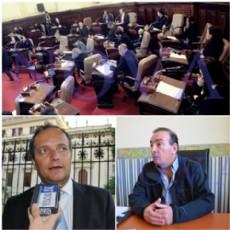 La actividad pol�tica de la semana tuvo epicentro en el Concejo Deliberante, donde se convalid� la adhesi�n de La Plata a la Polic�a de Prevenci�n local. Pacharotti y Vaudagna, dos massistas lanzados. (Foto: archivo)