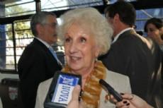 Estela de Carlotto, presidenta de Abuelas de Plaza de Mayo.