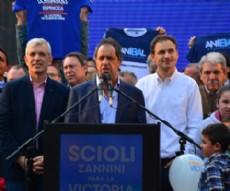 Pablo Bruera comparti� un encuentro con Daniel Scioli en el marco de los festejos previos al D�a del Ni�o.