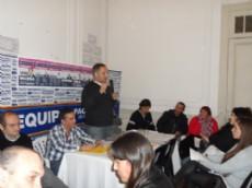 Javier Pacharotti realiz� una reuni�n de trabajo en su local partidario con el fin de dar recomendaciones a los militantes a la hora de fiscalizar en las PASO del 9 de agosto.