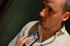"Marcelo ""Chuby"" Leguizam�n, candidato a intendente por el FR.(Foto:NOVA)."