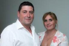 Ricardo Marazzi y Anah� Cant�n, referentes del Partido Vecinalista.