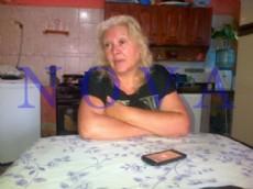 Cristina Ortiz, hermana de la v�ctima.