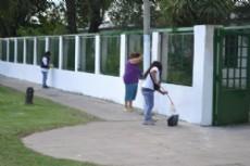 Contin�a la ayuda del municipio a establecimientos educativos.