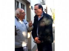 Oscar Vaudagna recorri� junto al primer candidato a Senador de su lista, Luis Franco y el primer candidato a Concejal, Juan Moreno, el Barrio Hip�dromo.
