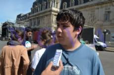 Mart�n Pacheco de la Federaci�n de Estudiantes Secundarios de Capital Federal, dialog� con NOVA.