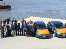 El Consorcio de Gesti�n del Puerto La Plata entreg� dos m�viles a Slezack para ser incorporados al Comando de Prevenci�n Comunitaria.
